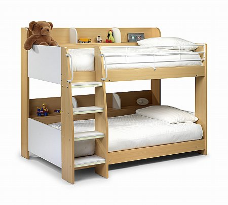Domino Bunk Bed in Maple