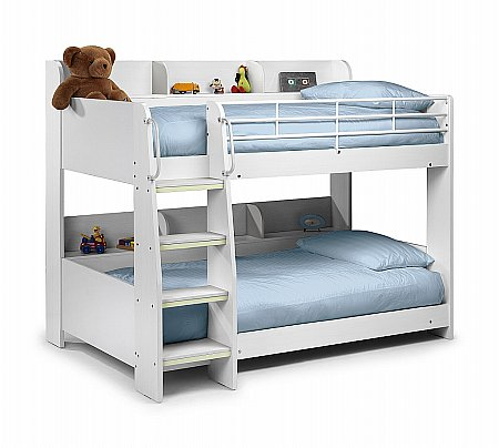 Domino Bunk Bed in White