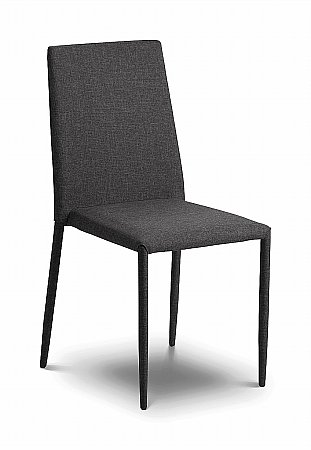 Jazz Slate Grey Fabric Dining Chair