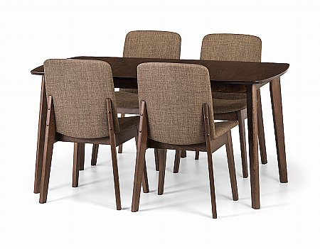 Kensington Dining Table and 4 Chairs