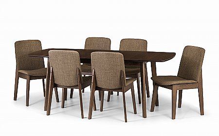 Kensington Dining Table and 6 Chairs