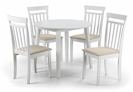 Coast Dining Table and 4 Chairs