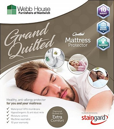 Grand Quilted Mattress Protector