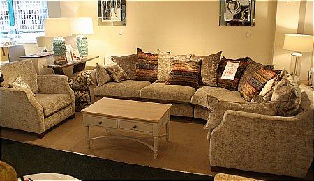 Riley Corner Sofa and Chair