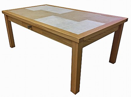 Oslo Large Coffee Table with Drawer