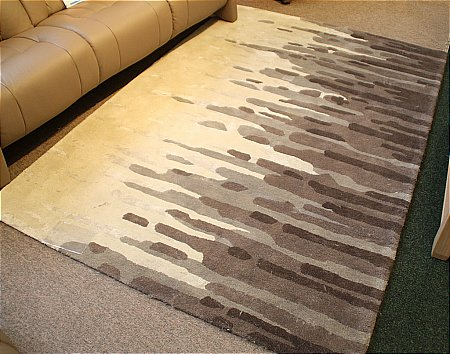 Diffraction Cookie Dough Rug