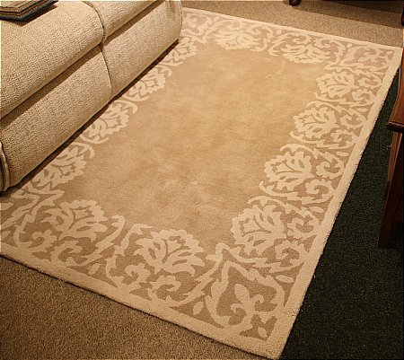 Florence Shaded White Rug