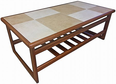 Amber White Large Coffee Table