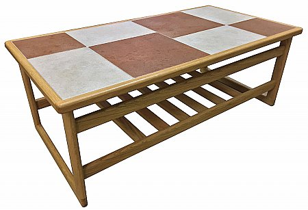 Brick White Large Coffee Table