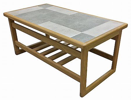 Slate White Small Coffee Table