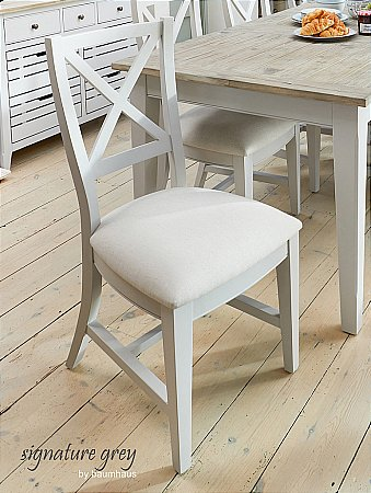 Signature Grey Dining Chair pair