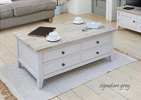 Signature Grey Large Coffee Table