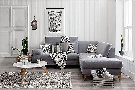 Cadini Fabric Corner Suite
