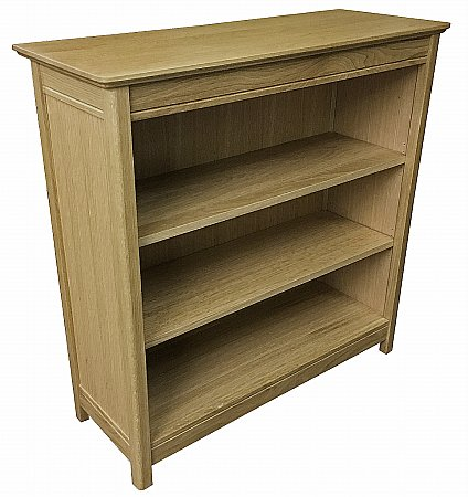 Beaumont 90cm Wide Solid Top Bookcase