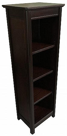 Beaumont 30cm Wide Solid Top Bookcase