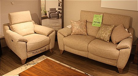 Evolution 2 Seater Sofa and Power Recliner