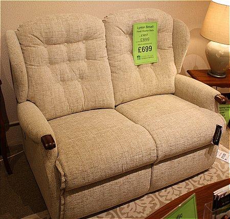 LYNTON Small Fixed 2 Seater Sofa