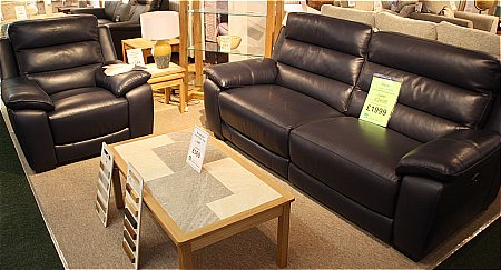 Oscar 2 Seater Sofa and Power Recliner