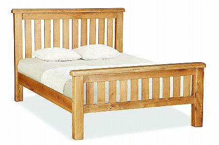 Cork Double Slatted Bedstead
