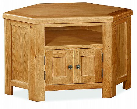 Cork Corner TV Unit