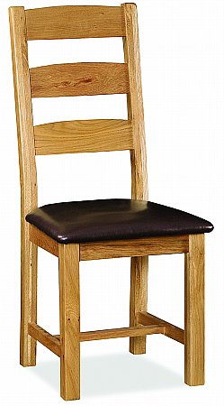 Cork Slatted Dining Chair