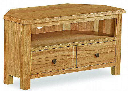 Cork Lite Corner TV Unit