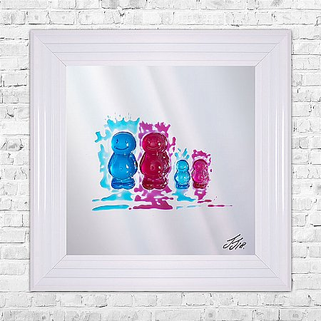 Jelly Babies Print and Frame