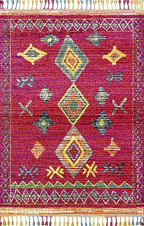 Royal Marrakech 2208B Red/Lilac Rug
