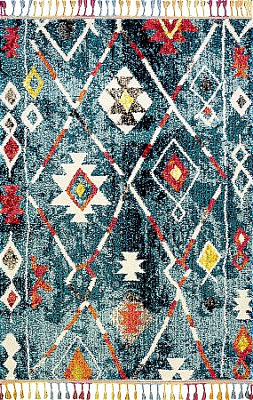 Royal Marrakech 2267A Turquoise/Blue Rug
