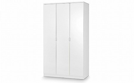 Manhattan High Gloss 3 Door Wardrobe