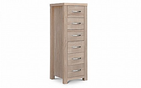 Hamilton 6 Drawer Tallboy