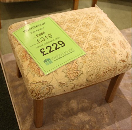 Winchester Footstool