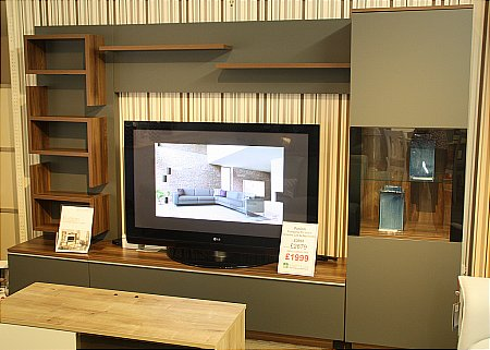 Fusion TV Unit Display Cabinet and Wall Units