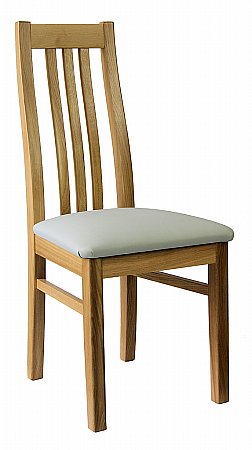 Videco Slatted Back Dining Chair