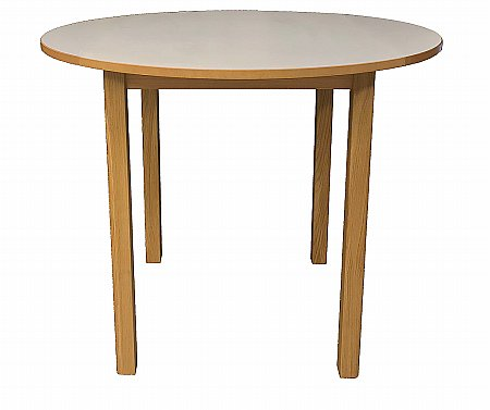 Dura Top Round Drop Leaf Dining Table