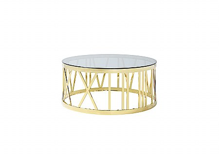 Hereford Gold Coffee Table