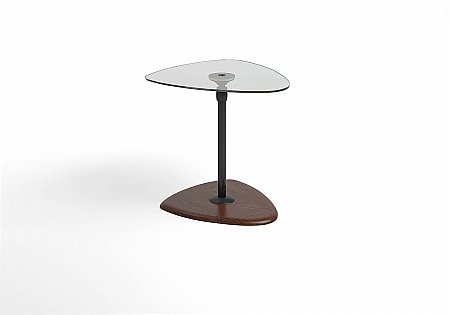 Beta Side Table Glass Top