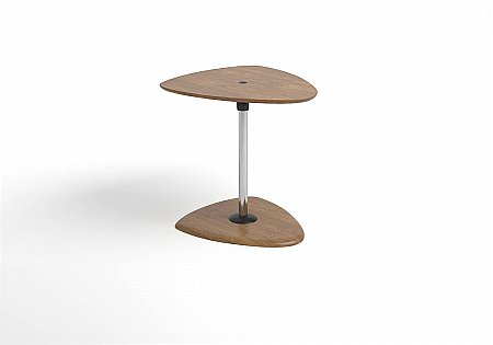 Beta Side Table Wood Top