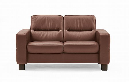 Wave 2 Seater Sofa Low Back