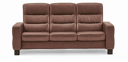 Wave 3 Seater Sofa High Back