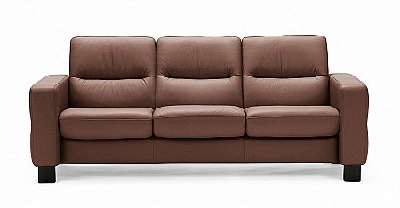 Wave 3 Seater Sofa Low Back
