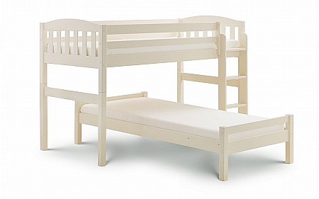 Max Combination Bed in Stone White