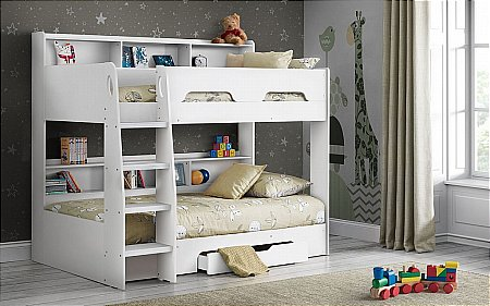 Orion Bunk Bed in Pure White