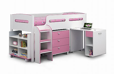 Kimbo Cabin Bed in Pink