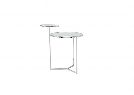 Worchester Silver Lamp Table