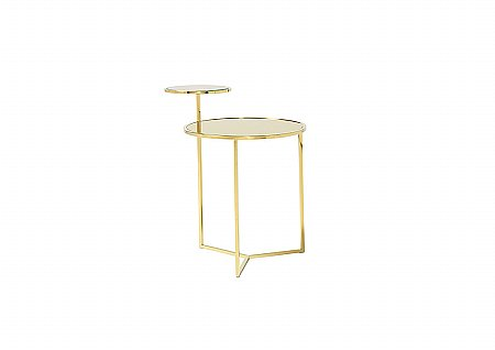 Worchester Gold Lamp Table