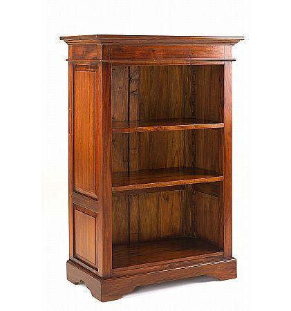 Mahogany Village Small Bookcase