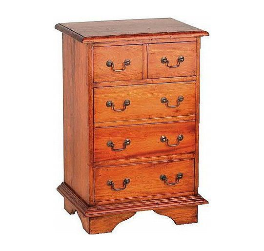 Mahogany Village Two over Three Chest