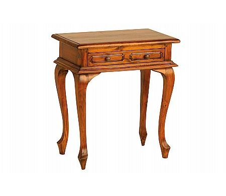 Mahogany Village Cab Leg Table