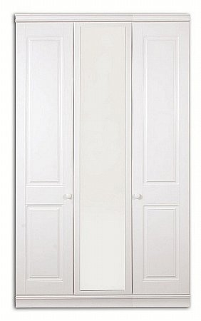 Vale Furnishers - Regatta Three Door Mirrored Wardrobe. Click for larger image.